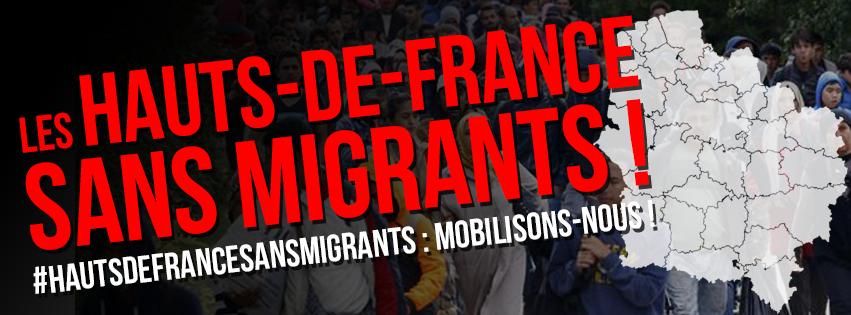 SIGNEZ LA PÉTITION LES HAUTS-DE-FRANCE SANS LES MIGRANTS !